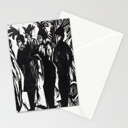 Ernst Ludwig Kirchner Five Women on the Street Stationery Cards