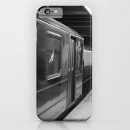New York Subway B&W  iPhone Case