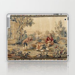 Aubusson  Antique French Tapestry Print Laptop & iPad Skin
