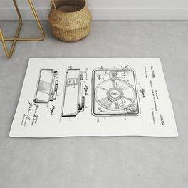 Turntable Patent Rug
