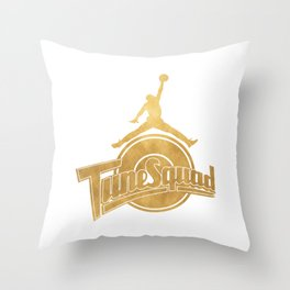 Tune Squad T Shirt Throw Pillow