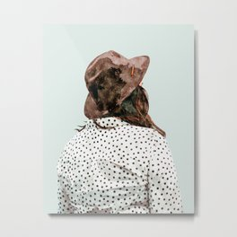 The Wait #painting #digitalart Metal Print