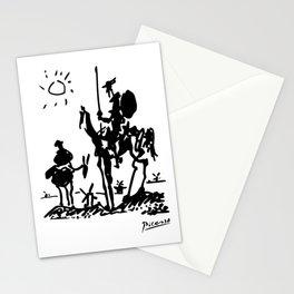 Pablo Picasso Don Quixote 1955 Artwork Shirt, Reproduction Stationery Cards
