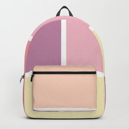 Big blocks soft colors Backpack