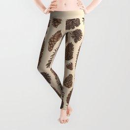 Pinecones Leggings