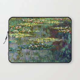 Claude Monet Pond of Water Lilies Laptop Sleeve