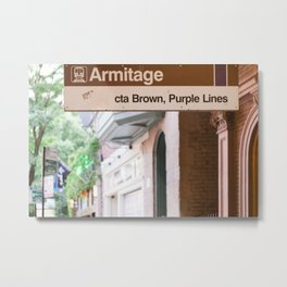 Lincoln Park Armitage Metal Print