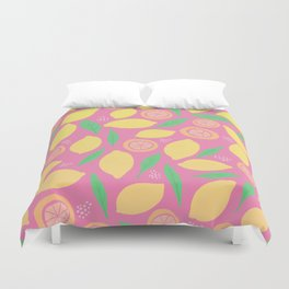 Pink Lemonade Duvet Cover