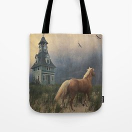 Across the sands Tote Bag