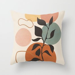 Abstract Minimal Shapes 23 Throw Pillow