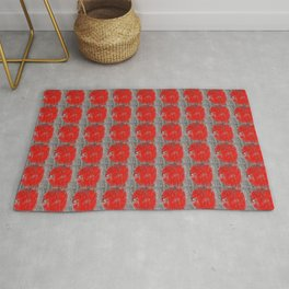 Red Marks the Spot Rug