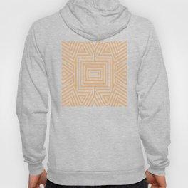 African Geometric Tribal Pattern 2 Hoody