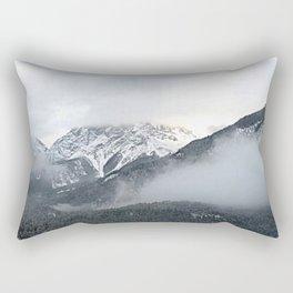 Grey layers Rectangular Pillow