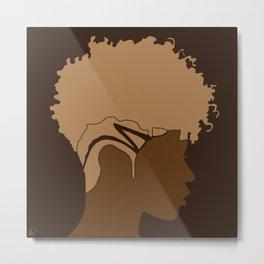 FOR BROWN GIRLS VII Metal Print