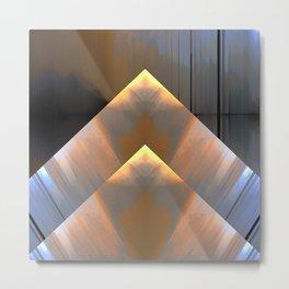 Gold Metal Print