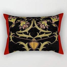 art nouveau Rectangular Pillow