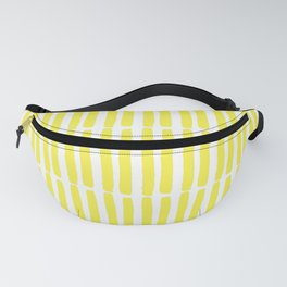 Yellow Stripes Fanny Pack