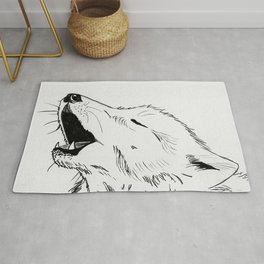 Gathering the wolves Rug