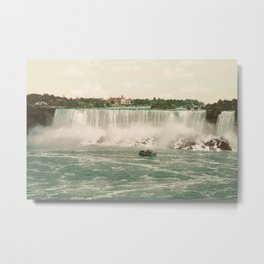 Niagara American Falls circa 1900 Metal Print