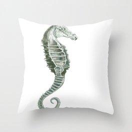 Sea Thestral Throw Pillow