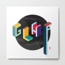 GLHF (Good Luck Have Fun!) Metal Print