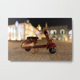 Little Cars, Big Planet (Let's Ride) Metal Print