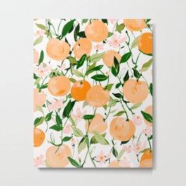 Spring Clementines Metal Print