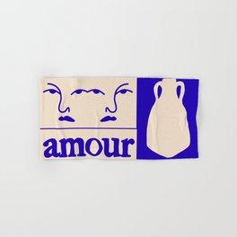 Amour Hand & Bath Towel
