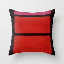 Rothko Inspired #22 Throw Pillow
