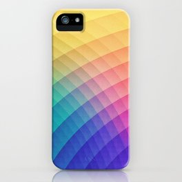 Spectrum Bomb! Fruity Fresh (HDR Rainbow Colorful Experimental Pattern) iPhone Case