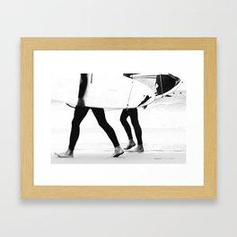 catch a wave Gerahmter Kunstdruck