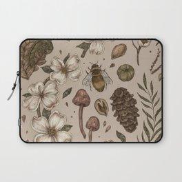 Nature Walks (Light Background) Laptop Sleeve