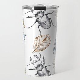 Bugs and leaves Travel Mug