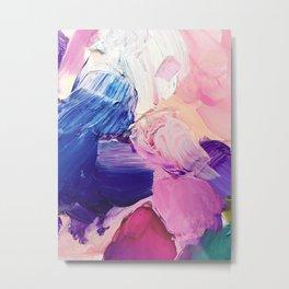 Saturday Night (Abstract Painting) Metal Print