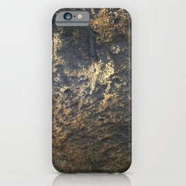 Bronze Stone: Inner Strength and Courage iPhone Case