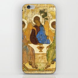 The Holy Trinity By Andrei Rublev iPhone Skin