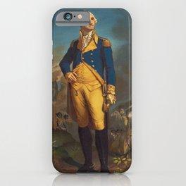 George Washington - Military Portrait iPhone Case
