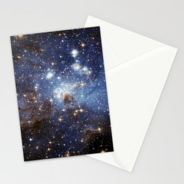 LH 95 stellar nursery in the Large Magellanic Cloud (NASA/ESA Hubble Space Telescope) Stationery Cards