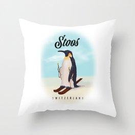 Stoos Switzerland Throw Pillow