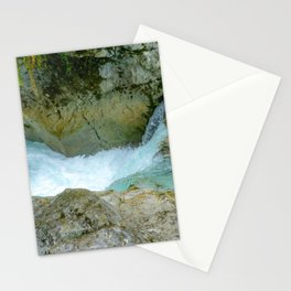 Mountain water Stationery Cards