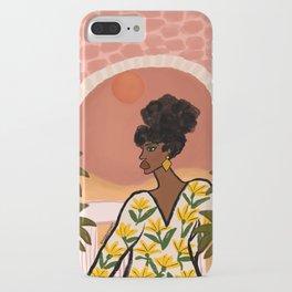 Desert Wanderer iPhone Case