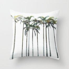 Palm Trees 12 Throw Pillow