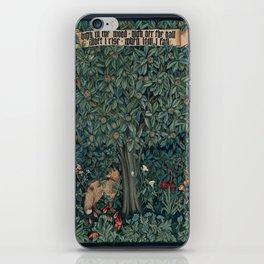 William Morris Greenery Tapestry iPhone Skin
