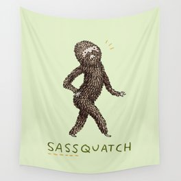 Sassquatch Wall Tapestry