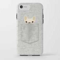 Pocket French Bulldog - Cream iPhone 7 Tough Case