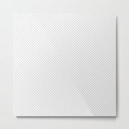 Jig, Hook, Bobber Pattern Metal Print