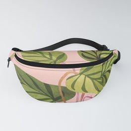 Upstart / Tropical Plant Fanny Pack