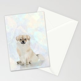 Tibetan Spaniel Dog Stationery Cards