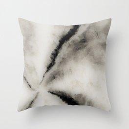 Ancient Marble Smoke Throw Pillow