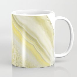 Lemon Twist Agate Dream #1 #gem #decor #art #society6 Coffee Mug